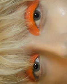 orange eyeshadow nude lip glow highlight contour s Makeup Inspo, Makeup Art, Makeup Inspiration, Eye Makeup, Hair Makeup, Best Beauty Tips, Beauty Make Up, Beauty Hacks, Orange Eyeshadow