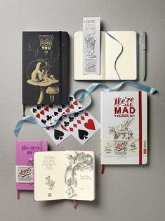 Moleskine Alice's Adventures in Wonderland Limited Edition Notebook, Pocket, Plain, Blue, Hard Cover (3.5 x 5.5): Moleskine: 8052204400874: AmazonSmile: Books