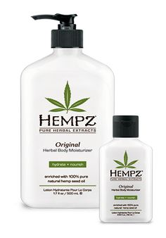 Herbal Body Moisturizers Original Herbal Body Moisturizer - HEMPZ Products - The Secret is in The Seed.