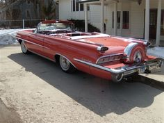 1959 Oldsmobile 98 Convertible Maintenance/restoration of old/vintage vehicles: the material for new cogs/casters/gears/pads could be cast polyamide which I (Cast polyamide) can produce. My contact: tatjana.alic@windowslive.com