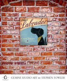Black Labrador Brand treats original graphic by geministudio, $69.00