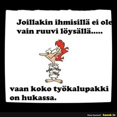 HAUSK.in - Hauskat kuvat ja vitsit. Hyvällä tuulella joka päivä! Some Fun, Funny Texts, Bujo, Funny Quotes, Jokes, Mindfulness, How To Get, Lol, Feelings