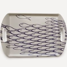 Sardine Run Tray - Jersey Pottery