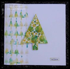 Christmas Tree Sparkle by Alison Hall | That's Blogging Crafty!
