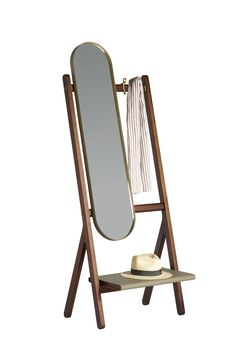 Ren Mirror by Neri&Hu Poltrona Frau, Salone Del Mobile 2016   #Milantrace2016