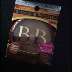 Physicians Formula Bronze Booster Bronzer Brand new, never used or tested and originally boxed Physicians Formula #6219 Bronze Booster BB Beauty Balm with SPF20. This is the 0.3 oz size with glow-boosting benefits which glow activator technology.  Purchased and have not used. Physicians Formula Makeup Bronzer