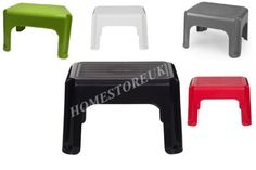 40CM-ANTI-SLIP-STEP-UP-STOOL-PLASTIC-SEAT-KID-KITCHEN-BATH-TOILET-POTTY-TRAINING