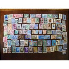 100 Assorted Greece used postage stamps different mixture (3) Greek collection