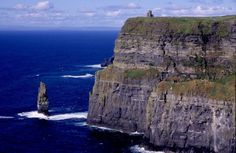 Cliffs of Mohr, Ireland. Get Ireland travel Tips here: http://www.ytravelblog.com/your-ireland-travel-tips/
