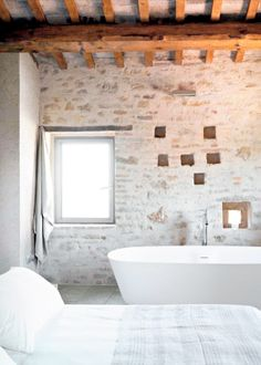 stone and beams | bed and bath