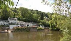 Y Old Ferrie Inn Bunkhouse This beautiful riverside pub has been standing on the banks of the River Wye since the Century. With charming traditional features, war. Welsh Marches, Stunning View, Beautiful, Bunkhouse, Open Fires, 15th Century, Hostel, Banks, Touring