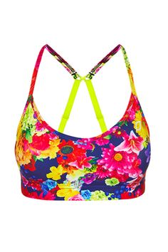Floral Mania Sports Bra xx  Make sure to check out my fitness tips, nutrition info and Brazilian Athletic wear at https://ronitaylorfit.com/