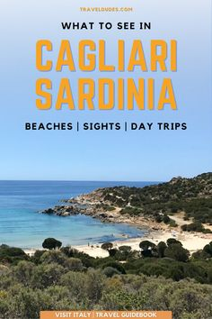 Cagliari is the capital of the island of Sardinia in Italy, and has become one of the most popular destinations to visit in Sardinia. If you're wondering what to see in Cagliari, Sardinia - here's a list of the best outdoor places to visit. This guide forms part of our Visit Italy Travel Guidebook | Travel Dudes #Travel #Sardinia #Italy | things to do in cagliari | cagliari sardinia Venice Travel, Rome Travel, Italy Destinations, Things To Do In Italy, Italy Travel Tips, Sardinia Italy, Explore Travel, Visit Italy, Guide Book