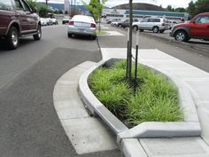 Streets and parking lots funnel rainwater directly to stormdrains, and those connect with our sewers. Streams that would've meandered overland and seeped into the earth are in underground pipes. Du...