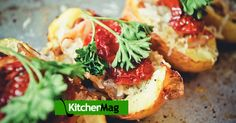 Блюдо в блюде: пицца в картофеле - KitchenMag.ru