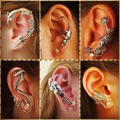 Cartilage earrings, tragus, industrial and helix piercings as well as information about jewelry, guides for ear piercing and trendy, cool and cute fashion accessories.