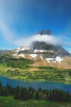 Hidden Lake, Glacier National Park, Montana by Robert Melgar