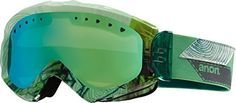 Anon Majestic Goggles Faultline/Green Solex Lens Womens >>> Continue to the product at the image link.