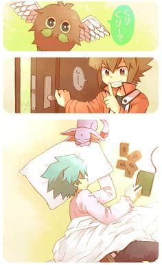 Tags: Anime, Yu-Gi-Oh!, Yu-Gi-Oh! GX, Johan Andersen, Juudai Yuuki