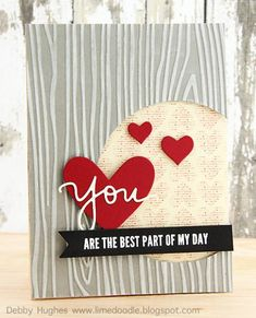 you are the best part of my day by limedoodle - Cards and Paper Crafts at Splitcoaststampers
