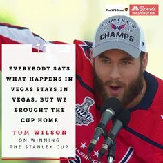 Tom Wilson with the most underrated line of the parade. redwings hockey, hockey tournament ideas, hockey party Wilson with the most underrated line of the parade. Washington Capitals Stanley Cup, Washington Capitals Hockey, Caps Hockey, Hockey Teams, Hockey Baby, Ice Hockey, Tom Wilson Hockey, Tom Wilson Capitals, Funny Hockey Memes
