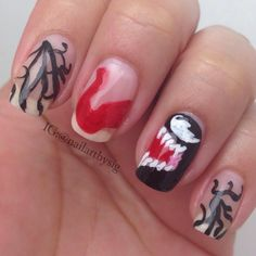 amazing nail art inspired by halloween