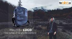 Un compañero para tus grandes aventuras Lugo Diseño Maletines y morrales en cuero.