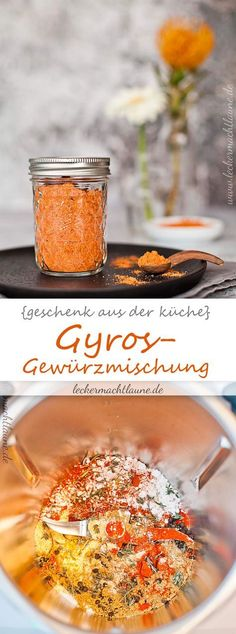Gyros spice mix {gift from the kitchen} Dutch Recipes, Cuban Recipes, Russian Recipes, World Recipes, Greek Recipes, Irish Restaurants, Homemade Seasonings, Big Meals, Polish Recipes
