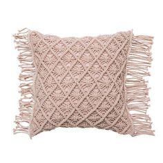 Mercer + Reid - Macrame Cushion - Homewares - Cushions - Mercer + Reid - Adairs Online