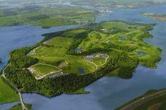 The Fota Island golf resort near Cork, Ireland.