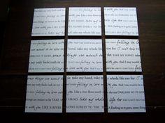 wedding song lyrics =)