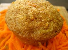 Carrot pineapple muffins. Great to sneak in some veggies for a picky toddler!  Got to try