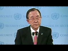 Watch United Nations, Secretary General, Ban Ki-moon's reaction to, & very guarded comment on hearing of death of Hugo Chavez:  United Nations Secretary-General Ban Ki-moon reacts to the death of Venezuelan President Hugo Chavez. For more CNN videos, visit our site at http://www.cnn.com/video/
