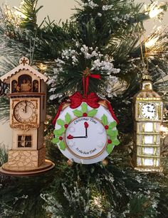 82acec68a Results for clocks - Ornaments – The Ornament Shop. Personalized Christmas  ...