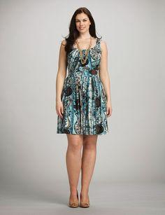 Maravillosos vestidos casuales para gorditas   Vestidos para el día a dia