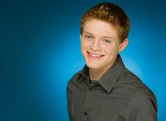 Sean Berdy. Adorable. Wish I knew more sign language so I actually could speak to him.
