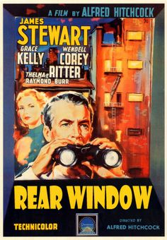 Alfred Hitchcock-Rear window