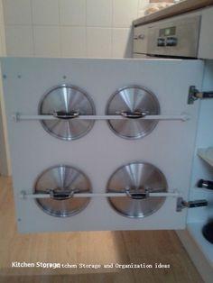 Insanely Sensible DIY Kitchen Storage Ideas #kitchenstorage #kitchen