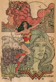 Wonder Woman — George Perez