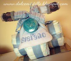 TRICICLO DI PANNOLINI PER STEFANO   www.dolcemirtillo@gmail.com