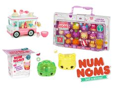 a set of Num Noms Toys sweepstakes