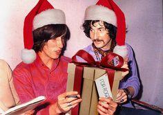 Pink Floyd  in Santa Hats