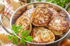 Котлеты с мясом и зеленью в духовке   Блог elisheva.ru