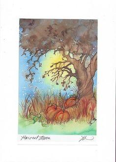 Karen Bagnard's Harvest Moon card