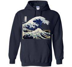 Kanagawa Japanese The great wave T shirt