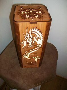 My laser cut dragon motif, shoji style table lamp provides soft, warm light filtered through high quality rice paper filling the room with a Horse Lamp, Oriental Design, Oriental Style, Mood Lamps, Bamboo Table, Mood Light, Accent Lighting, Table Lamp Sets, Lights