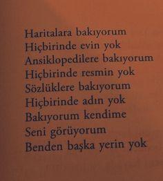 Benden başka yerin yok. #seviyorum #seniseviyorum #sevgilim #söz #sözler #aşksözleri #aşk #sevgi #sevgili #şiir #şiirheryerde #siir #şiirsokakta #şiirler #siirsokakta #gününsözü #turkey #turkeyphotooftheday #tr #instagramturkey #türkiye @asksozleri03