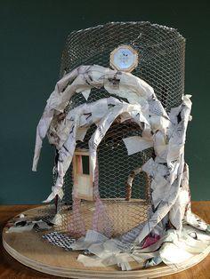 Tutorial: Fairy House Tree Pt. 1 by Torisaur, via Flickr