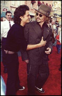 Orli & Johnny Depp!