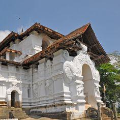 Westtempel Lankatilanka in Sri Lanka
